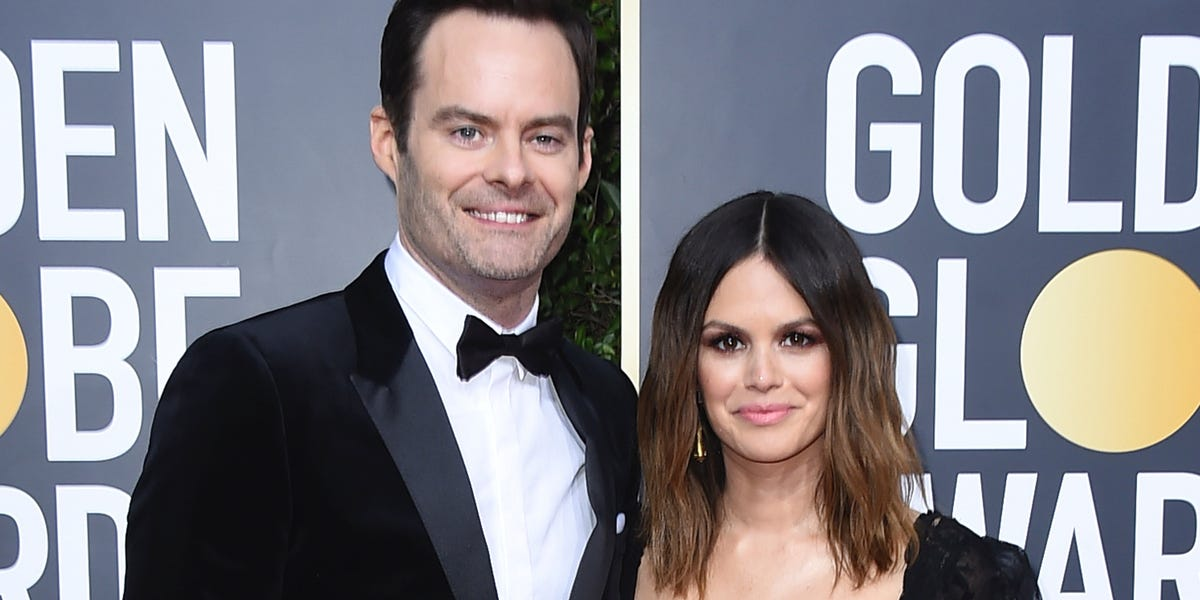 Bill Hader and Rachel Bilson made their debut as a couple at the Golden Globes and fans are screaming